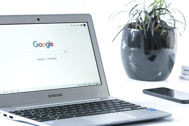 internetový vyhledávač google
