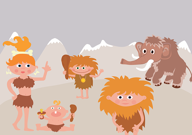 pračlovíčci a mamut