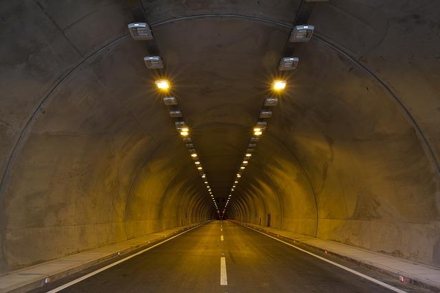 velký tunel
