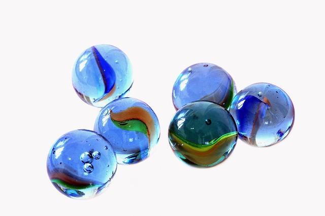 skleněné kuličky