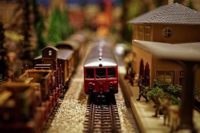 Vlak ve stanici