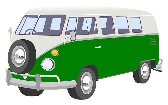 starý typ karavanu