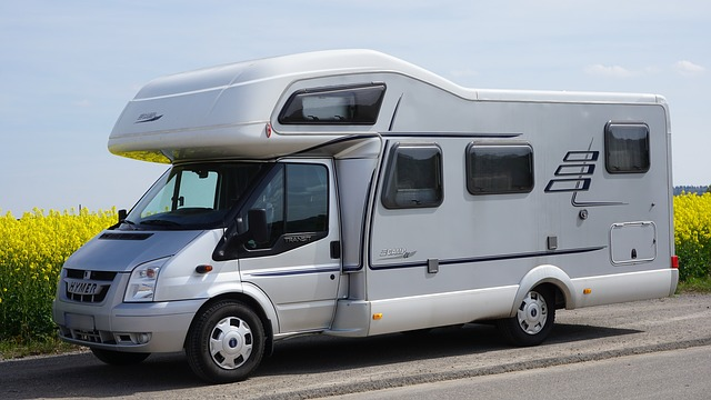 moderní karavan